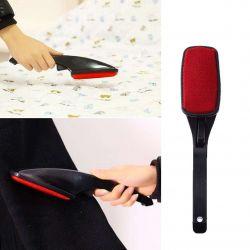 Escova Giratória antiestático pegajoso pó cabelo removedor fiapo rolo da escova limpeza ferramenta