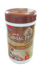 Lenço Umedecido Para Hamsters Genial Pet Supreme 75und.