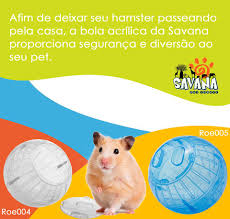 Hamster Ball com suporte