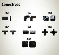 Conectivos Conectores Para Balcão Em Vidro Telas Aramados